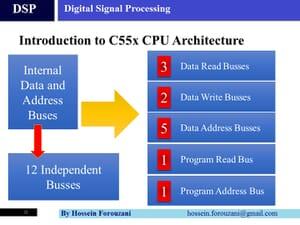 عکس اول از معماری پردازنده DSP