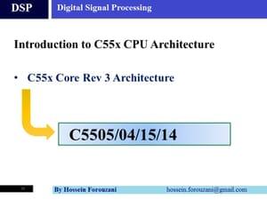 Revision 3 پردازشگرهای سیگنال دیجیتال سری C55x