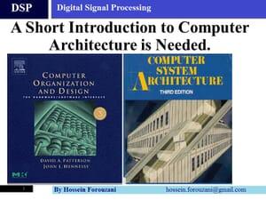 پیشنیاز معماری پردازنده DSP